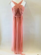 Watters And Watters Peach Bridesmaid Formal Dress