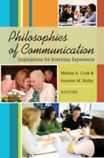 Philosophies Of Communication  9781433102196