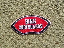 vintage style Bing surfing surfboard surfer jacket patch longboard 1960s david n