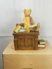 Sarah's Attic, The Michaud Collection, Librarian W/ Desk, Rare Figure