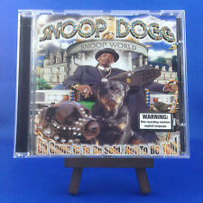SNOOP DOGG: Da Game Is To Be Sold Not To Be OUT OF PRINT 1ST AUSTRALIAN PRESSING