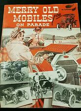 Vintage 1951 Merry Old Mobiles on Parade Softcover Book by Hi Sibley