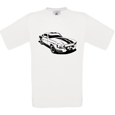 FORD MUSTANG ELEANOR GT 500 SHELBY  tee shirt homme blanc noir gris