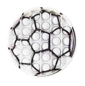 Football Push Pop for it Bubble Fidget Toy Sensory Stress Relief Brand New
