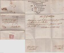 # FERMO: PREFILATELICA 1827 - COMUNITA' DI S. VITTORIA