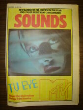 SOUNDS 1983 DEC 31 TV SCREEN MTV CLASH HERBIE HANCOCK