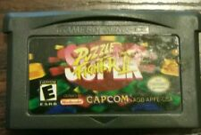 Super Puzzle Fighter II 2 Nintendo Game Boy Advance cartridge capcom Rare vtg