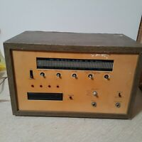 Vintage Unbranded Amateur Radio For Parts Or Restoration Selling As Is!!
