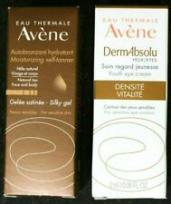 Lot 2: Avène Self-Tanner Silky Gel + Dermabsolu Youth Eye Contour Cream.Samples