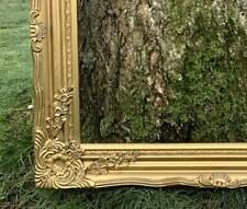 rococo de plâtre cadre orné de bois doré