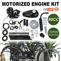Bicycle Engine kits 80cc Conversion kit 2 Stroke Petrol Motorized Bike engines M