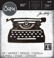 Sizzix Bigz Die 664422 Retro Type by Tim Holtz, Multi-Colour, One Size