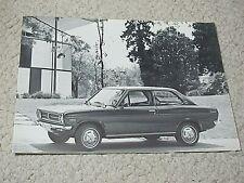 1971 DATSUN 1200 SALES BROCHURE..