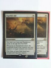 Mtg sigarda's aid foil x 1 great condition