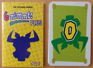 """6 nimmt! (Amigo) - die seltenen Zusatzkarten """"6 nimmt plus!"""""""