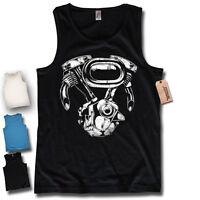 Tank Top - Biker Motor - Schrauber Tuning Herren Motorrad Oldschool Shirt S-XXL