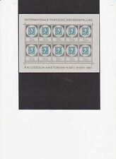 xxx NED. NVPH nrs. V 886/888, Amphilex-velletjes 1967. Cw. € 82,50
