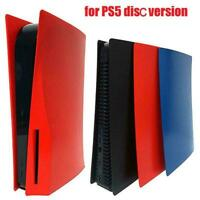 Skin Shell Case Cover Anti-Scratch Plate for PS5 Disc Version Console