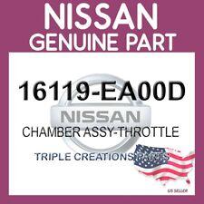 Genuine Nissan OEM 16119-EA00D CHAMBER ASSY-THROTTLE 16119EA00D