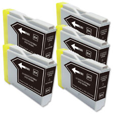 5 BLACK Ink Cartridge for Brother LC51BK MFC 440CN 465CN 665CW 685CW 845CW