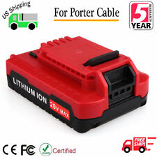 20V Lithium-Ion Battery For PORTER CABLE PCC680L PCC681L PCC682L PCC685L PCC660