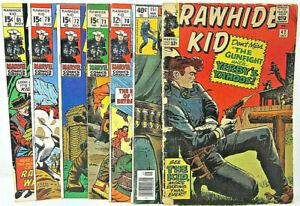 Marvel Rawhide Kid 42 Larry Lieber, 70 Last 12-cent, 71 72 79 Williamson, 81 151