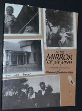 IN THE MIRROR OF MY MIND 1920's 30' Iowa Biography Margaret Burkholder Mett