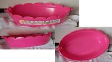 09 Mattel Polly Pocket Replacement Pink Bath / Bed Toy Playset accessory