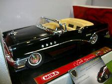 BUICK CENTURY Cabriolet noir 1955 au 1/18 MIRA 9151 voiture miniature collection
