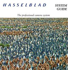 1998 HASSELBLAD CAMERA SYSTEM GUIDE BROCHURE -501CM-903SWC-ARCBODY-FLEXBODY
