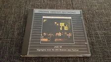 JAZZ '84 - MFSL CD - IXth MOSCOW JAZZ FESTIVAL © 1984 MFCD 894 Made in JAPAN