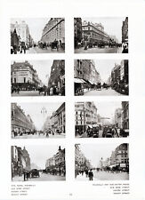 London Views 1907 orig foto prints Piccadilly Strand Kensington Albert Leicester