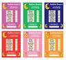 Bedtime Nightime Reward Chart - Kids Child Sticker Star - Girl Boy Sleep in Bed