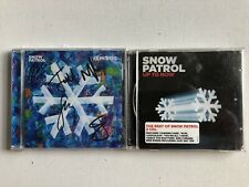 SNOW PATROL - REWORKED HAND SIGNED AUTOGRAPHED CD SEALED + UP TO NOW 2 CD