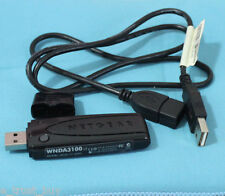 Netgear WNDA3100 V2 2.4ghz 5Ghz USB 300Mbps Wireless N N600 Adapter card + cable