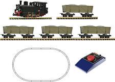 Roco 31029 Analog-set locomotora de vapor HF 4 Loren escala H0e