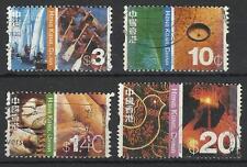 HONG KONG CHINA 2002 DEFINITIVES USED