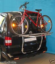 Uebler Primavello Heckträger VW T5 mit Heckklappen Fahrradträger für 2 Fahrräder