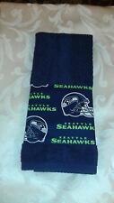 Seattle Seahawks Hand Towel Handmade  GREAT GIFT