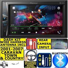 01-07 CARAVAN TOWN & COUNTRY PIONEER BLUETOOTH TOUCHSCREEN USB Car Radio Stereo