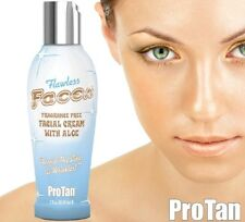 ProTan Flawless Faces Anti Wrinkle Facial Tanning Lotion Accelerator with Aloe