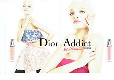 Publicité Advertising 087  2013  maquillage gloss Dior Addict D. Groeneveld