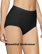 1,2,3 or 4X SEAMLESS SUREFIT SMOOTH LIGHT CONTROL BRIEFS KNICKERS, S-3XL, 8 - 10