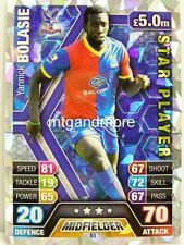 Match Attax 2013/14 Premier League - #083 Yannick Bolasie - Star Player