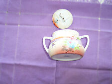 ANTIQUE NIPPON CHINA HANDPAINTED PORCELAIN SUGAR BOWL CHINA E-OH