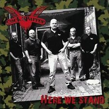 Here We Stand by Cock Sparrer (CD, Cleopatra)Oi Punk Rock Skins Spirit of 76
