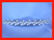 WEDDING PROM PAGEANT PARTY HEADBAND CROWN TIARA 1218