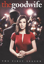 The Good Wife: Season 1 One (DVD 6-Disc Set) - NEW & SEALED