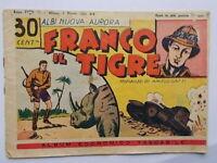 franco il tigrealbinuova aurora 711941 fumetti guerra Angelo Gatti Tullia