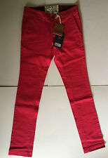 Jack Wills Ladies Hollingworth Chino -Brill Pink- Size 8UK - Brand New with Tags